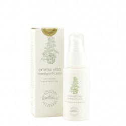 Crème anti-bactérienne pour le visage à base de cyprès 50 ml
