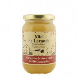 Miel à la lavande du monastère Notre-Dame de Ganagobie France 500g