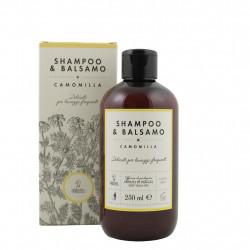 Shampooing et après-shampooing à la camomille 250 ml