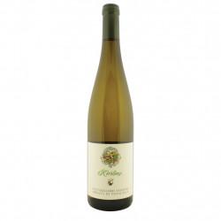 Vin blanc Riesling doc 75 cl