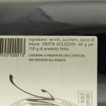 Marmellata di Mirtilli Trappiste di Vitorchiano ingredienti