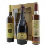Confezione Regalo con Birra Amber, Idromele e Amaro del Monastero Cascinazza