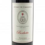 Vino Borbotto Rosso dei Monaci di Camaldoli etichetta fronte