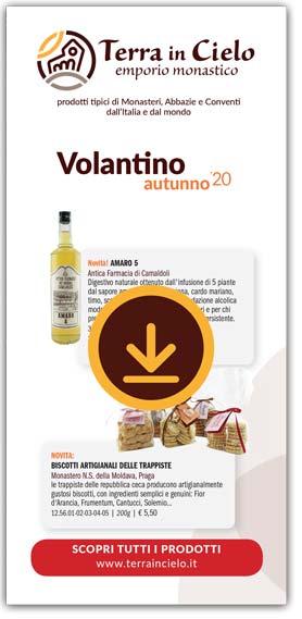 Copertina Volantino Prodotti autunno 2020